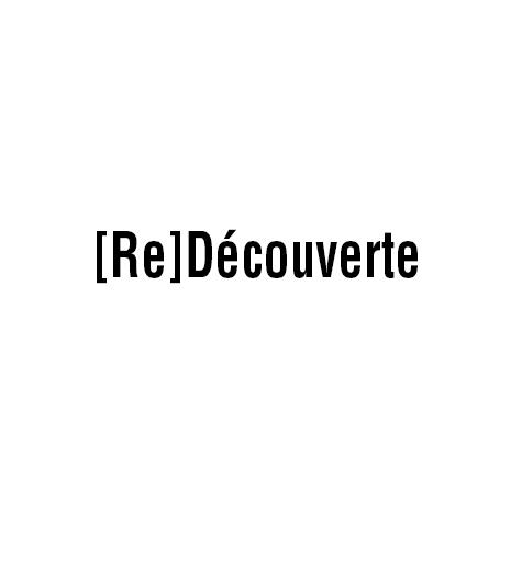 [Re]découverte