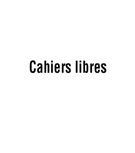 Cahiers libres