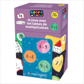 Récré en boîte - Je joue avec les tables de multiplications - dès 7 ans