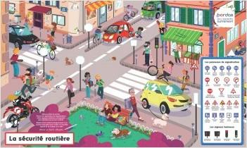 Les Posters-ardoises - La Sécurité routière