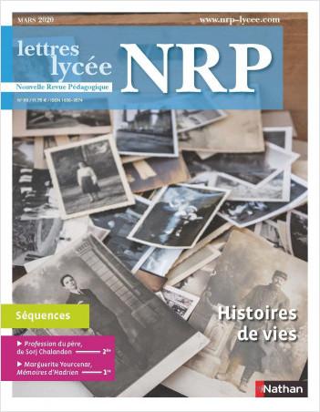 """Séquence pédagogique """" Histoire de vies"""" - NRP lycée ( Format PDF)"""