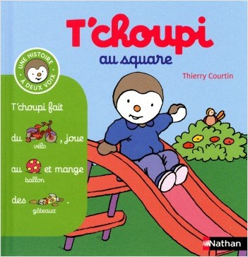 T'choupi au square - (Tome 9) - Dès 2 ans