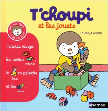 T'choupi et les jouets - (Tome 14) - Dès 2 ans
