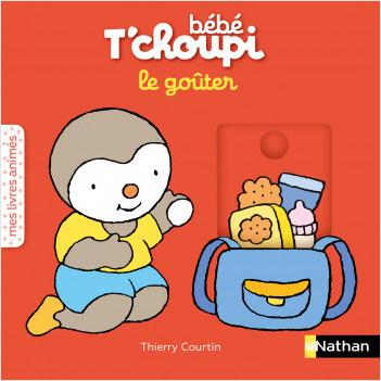 Bébé T'choupi - Le goûter  - livre animé Dès 6 mois