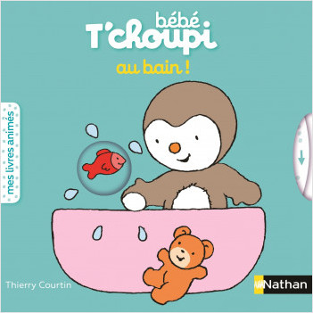 Bébé T'choupi au bain - 6 mois