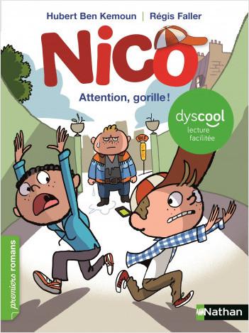 Nico : Attention gorille ! -  adapté aux enfants DYS ou dyslexiques - dès 7 ans