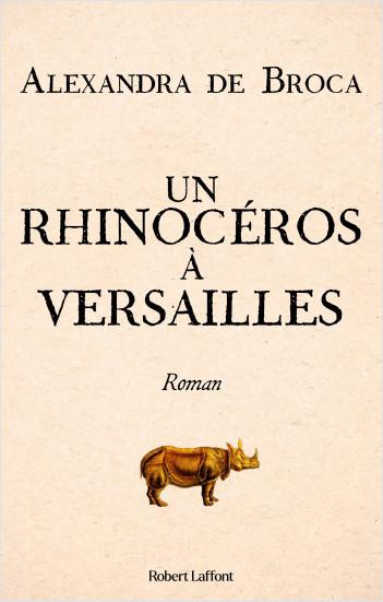 Un rhinocéros à Versailles