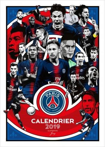 Calendrier du PSG 2019