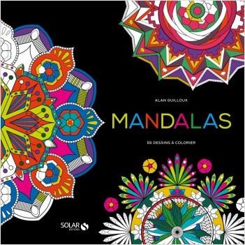 Mandala black-colo