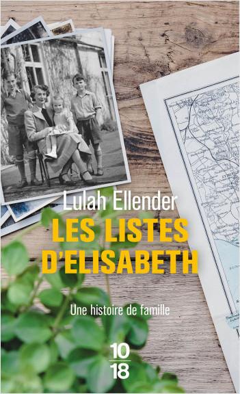 Les listes d'Elisabeth