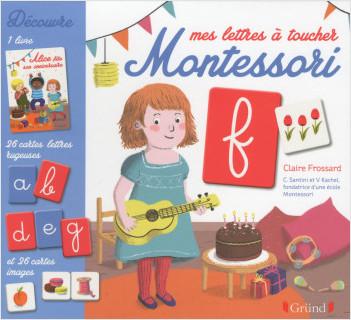 Mes lettres à toucher Montessori