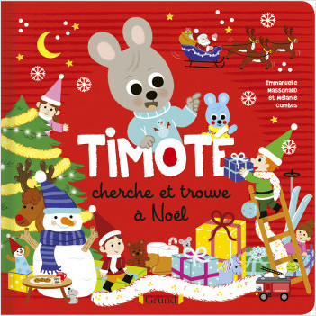 Timoté : Le cherche & trouve de Noël – Album Jeunesse – À partir de 2 ans