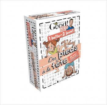 Dr Good ! Kids – 1 boîte 2 jeux : Des pieds à la tête – Jeu de cartes avec Michel Cymes – À partir de 6 ans