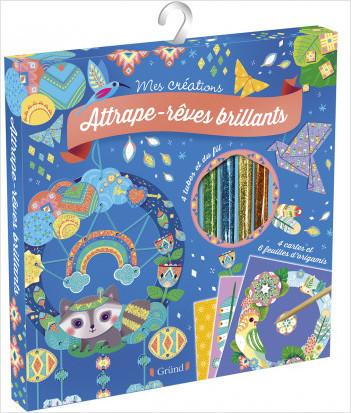 Pochette : Attrape-rêves brillants – Loisirs créatifs – Dès 6 ans
