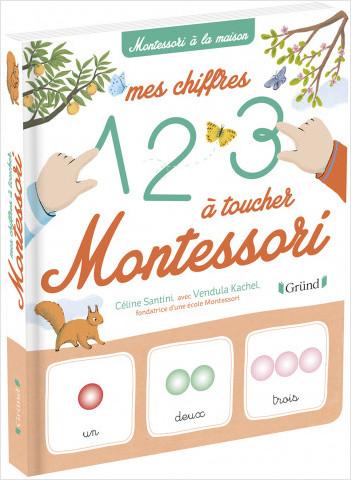 Mes chiffres à toucher Montessori – Livre d'éveil Montessori – À partir de 3 ans