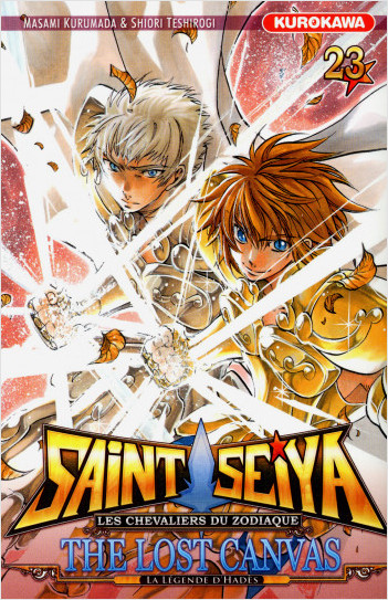 Saint Seiya - Les Chevaliers du Zodiaque  - The Lost Canvas - La Légende d'Hadès - tome 23