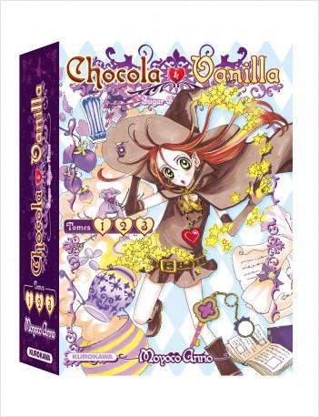 COFFRET - Chocola Vanilla - 1-2-3