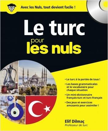 Le turc pour les Nuls grand format