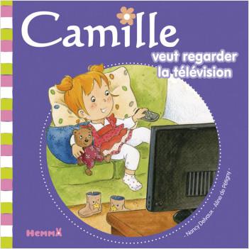 Camille veut regarder la télévision