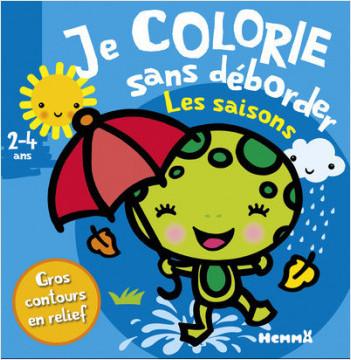 Je colorie sans déborder (2-4 ans) - Les saisons T27