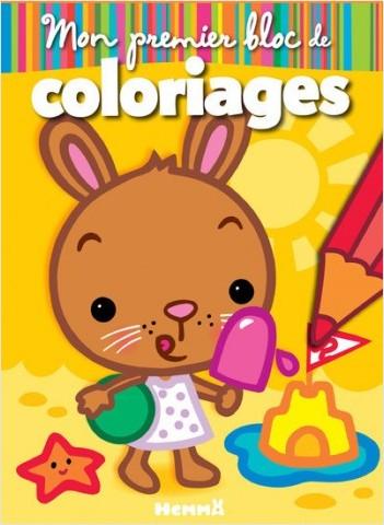 Mon premier bloc de coloriages (Lapin)