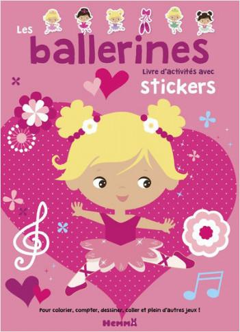 Le ballet - Livre d'activités avec stickers