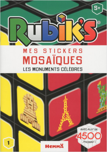 Rubik's - Mes stickers mosaïques