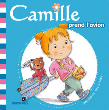 Camille prend l'avion T41