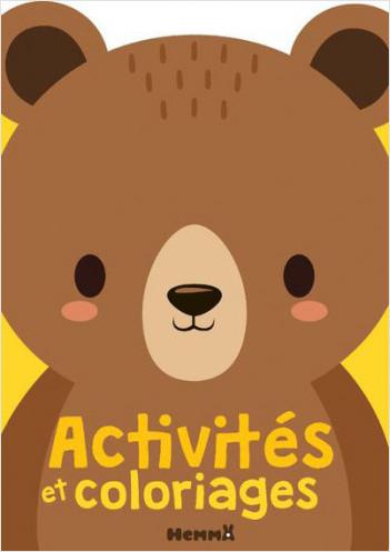 Activités et coloriages (ours)