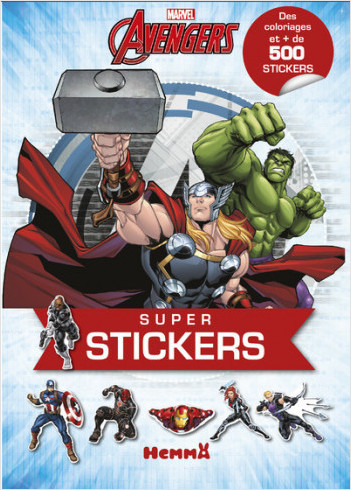 Marvel - Avengers - Super stickers !