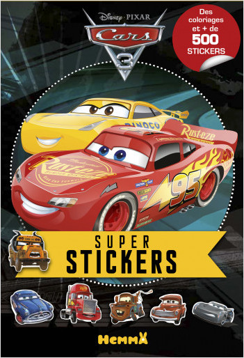 Cars 3 - Super stickers !