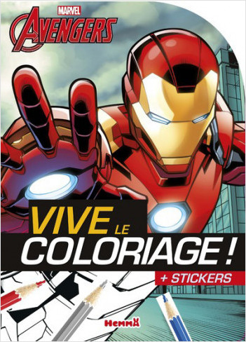 Marvel - Avengers - Vive le coloriage ! (Iron Man)