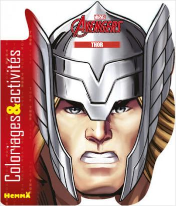 Marvel - Avengers - Coloriages & activités (Thor)