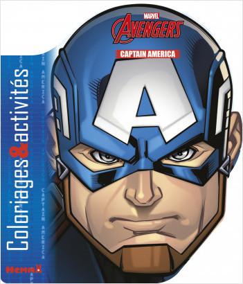 Marvel - Avengers - Coloriages & activités (Captain America)