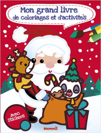 Mon grand livre de coloriages et d'activités (Noël)