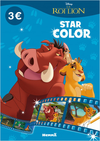 Disney Le Roi Lion - Star Color
