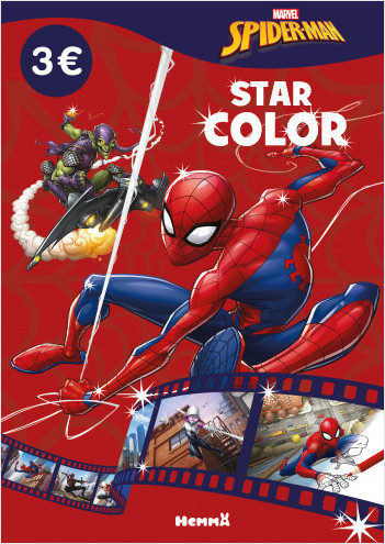 Marvel Spider-Man - Star Color (Spider-Man et Bouffon vert)