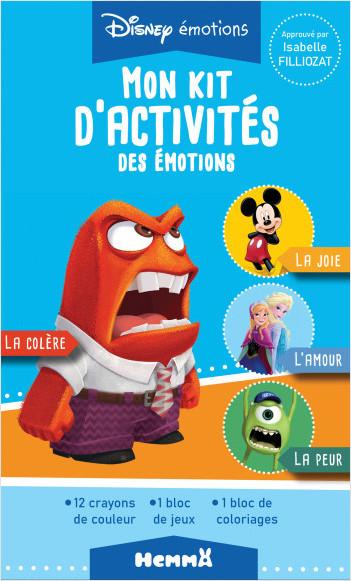Disney émotions - Mon kit d'activités des émotions