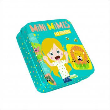 Mini mimes - Les animaux - Mini jeux à emporter partout -  dès 3 ans