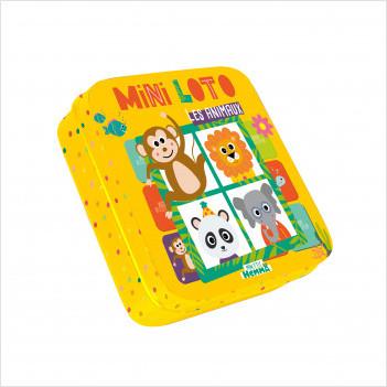 Mini Loto - Les animaux - Mini jeux à emporter partout - dès 3 ans
