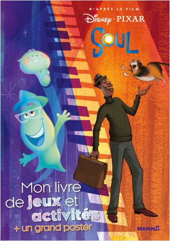 Disney Soul - Mon livre de jeux et activités + un grand poster