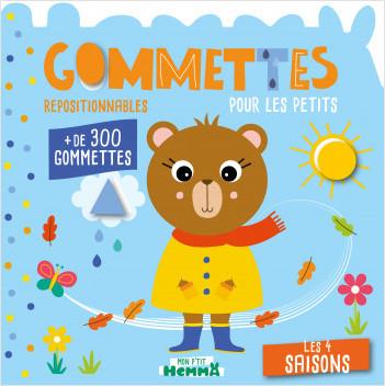 Mon P'tit Hemma - Gommettes pour les petits - Les 4 saisons