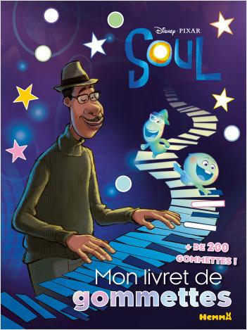 Disney Soul - Mon livret de gommettes