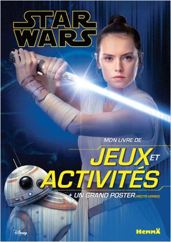 Disney Star Wars L'Ascension de Skywalker Ep IX - Mon livre de jeux et activités + un grand poster