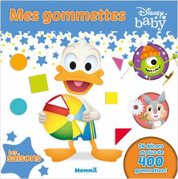 Disney Baby – Mes gommettes – Les saisons – Livre de gommettes – dès 3 ans