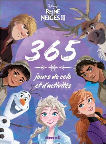 Disney La Reine des Neiges 2 - 365 jours de colo et d'activités