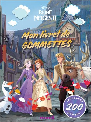 Disney La Reine des Neiges 2 - Mon livret de gommettes (Fond village)