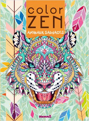 Color Zen - Animaux sauvages (Tigre)