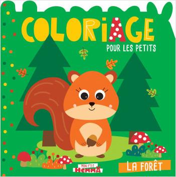 Mon P'tit Hemma - Coloriage pour les petits - La forêt