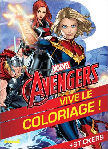 Marvel Avengers - Vive le coloriage ! (Héroïnes Marvel)